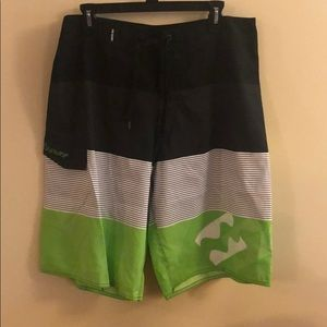 RSSURF men's swim trunks